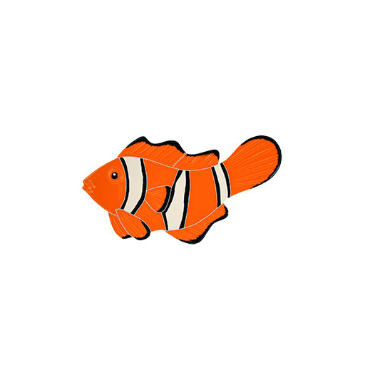 Clownfish ceramic mosaic picture