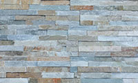 Almond Stacked Stone Panel