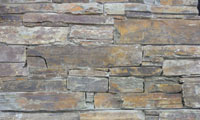Rustic Stacked Stone Panel