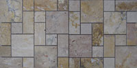 Travertine Stacked Stone Panel