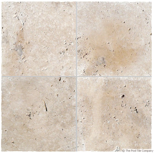 Travertine Linen Tumbled Unfilled Tiles Amp Pavers