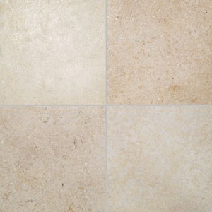 Crema Limestone Tile - Antique