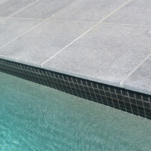 Dark Grey Granite Coping