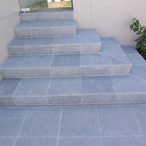 Dark Grey Granite Steps