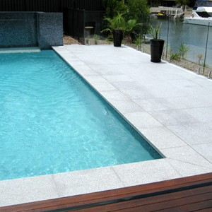 Light Grey Granite Pool tiles