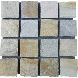 Natural Blend Quartzite Cobblestone