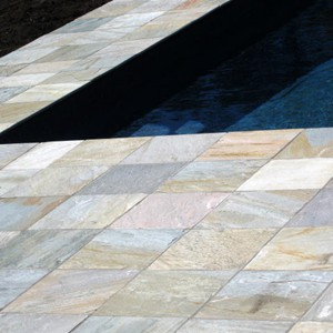Natural Blend Quartzite Paving Tiles