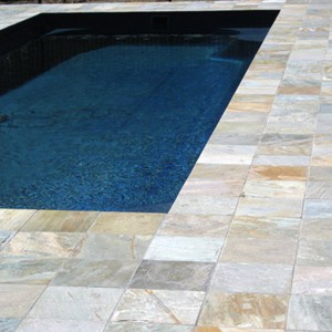 Natural Blend Quartzite Pool Pavers