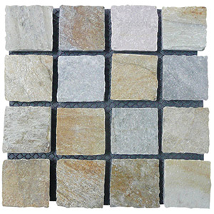 Natural Quartzite Cobblestone
