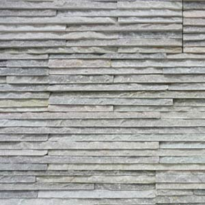 SS110 Frosted Ice Fine stacked stone cladding